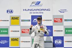 Podium : Maximilian Günther, Prema Powerteam Dallara F312 – Mercedes-Benz