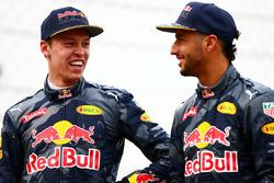 Daniel Ricciardo, Red Bull Racing et Daniil Kvyat, Red Bull Racing