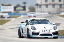 #35 CJ Wilson Racing Porsche Cayman GT4: Tyler McQuarrie, Till Bechtolscheimer