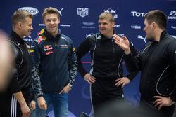 Daniil Kvyat, Red Bull Racing avec Alexey Zaytsev, Alexey Pushkarev et Alexander Kasyanov