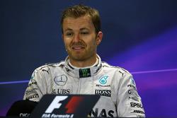 Conférence de presse : le vainqueur Nico Rosberg, Mercedes AMG F1 Team