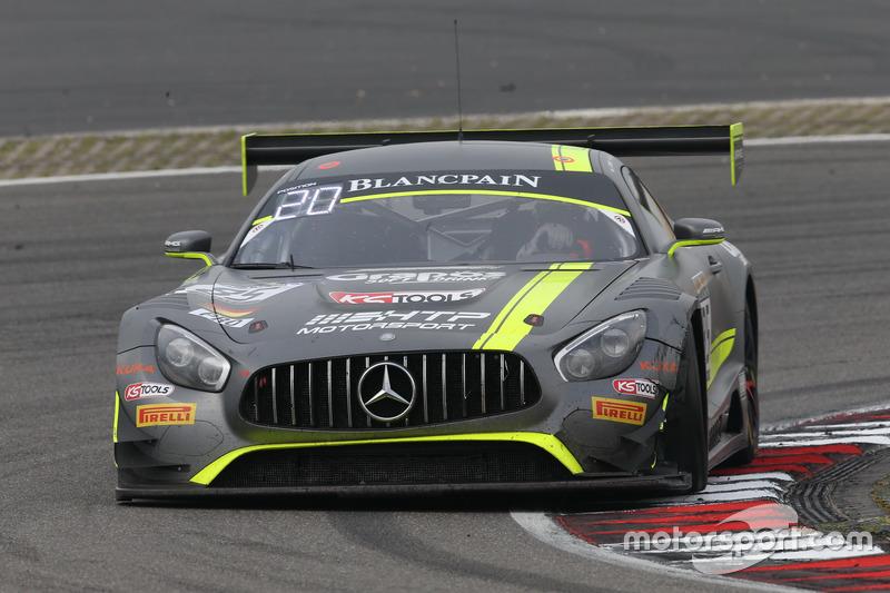 #85 HTP Motorsport, Mercedes-AMG GT3: Clemens Schmid, Luciano Bacheta, Indy Dontje