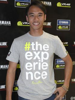 Imanuel Putra Pratna, participant au Yamaha VR46 Master Camp