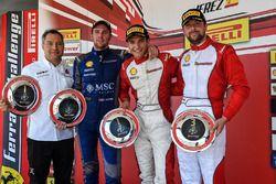 Trofeo Pirelli podium: winner Alex Palou
