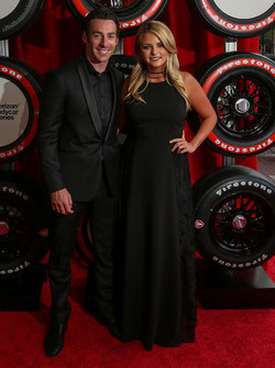 Simon Pagenaud, Team Penske Chevrolet and girlfriend Hailey