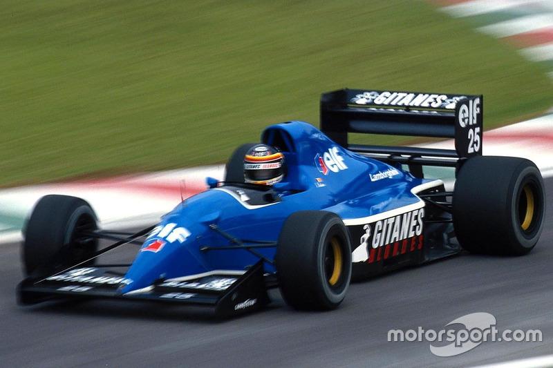 Thierry Boutsen, Ligier Lamborghini JS37