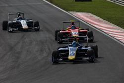 Jake Hughes, DAMS, Arjun Maini, Jenzer Motorsport y Steijn Schothorst, Campos Racing