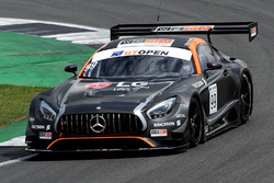 #99 Sports and You, Mercedes AMG GT3: Manuel Da Costa, Miguel Sardinha