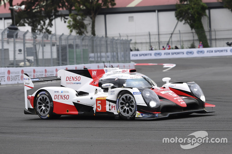 Ausfall: #5 Toyota TS050 Hybrid: Sébastien Buemi, Kazuki Nakajima