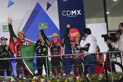 First place LMP2, Ricardo Gonzalez, Filipe Albuquerque, Bruno Senna, RGR Sport by Morand