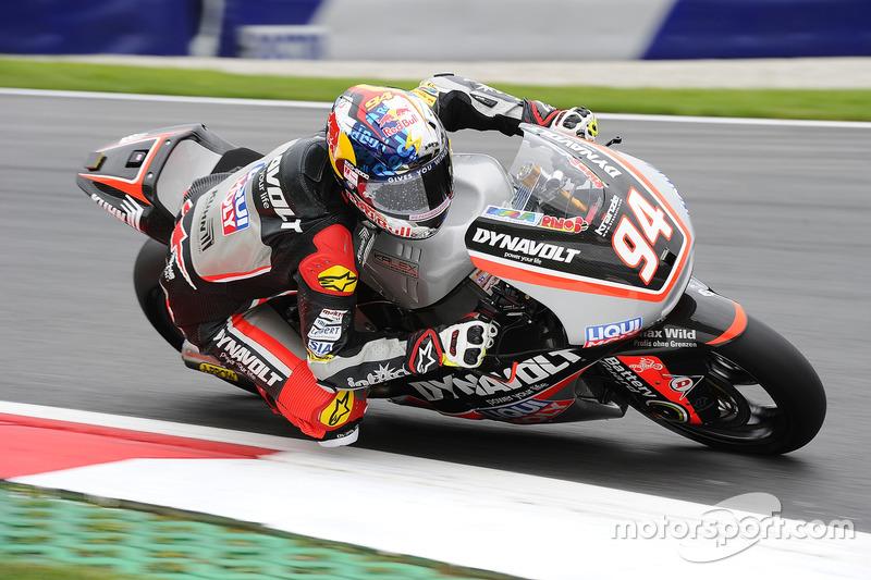 Jonas Folger – Moto2 – Sturz und Platz 26