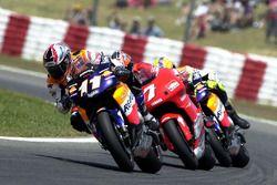 Tohru Ukawa, Repsol Honda Team, Carlos Checa, Yamaha Team, Valentino Rossi, Honda Team