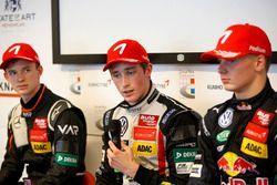 Basın toplantısı: Joel Eriksson, Motopark Dallara F316 – Volkswagen; Callum Ilott, Van Amersfoort Ra