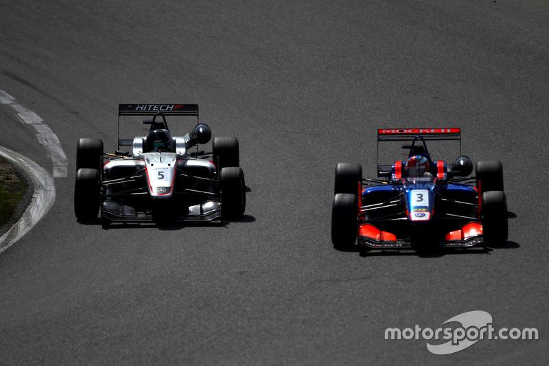 Harrison Scott, Hitech GP Dallara F315 - Mercedes; Harrison Scott, Hitech GP Dallara F315 - Mercedes