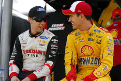 Brad Keselowski, Team Penske Ford, Joey Logano, Team Penske Ford