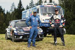 Jari-Matti Latvala, Volkswagen Motorsport and Ayrat Mardeev, Kamaz
