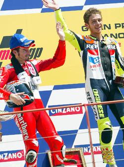1. Valentino Rossi; 2. Platz Max Biaggi