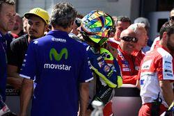 Cal Crutchlow, Team LCR Honda et Valentino Rossi, Yamaha Factory Racing