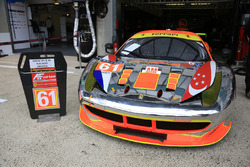 Экипаж #61 Clearwater Racing Ferrari 458 Italia
