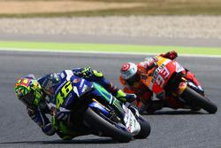 Валентино Росси, Yamaha Factory Racing и Марк Маркес, Repsol Honda Team