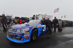 The car of Ryan Newman, Richard Childress Racing Chevrolet