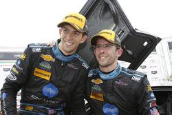 Ganadores #10 Wayne Taylor Racing Corvette DP: Ricky Taylor, Jordan Taylor