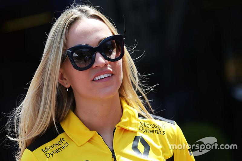 Carmen Jorda, Development Driver Renault Sport F1 Team