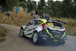 Andrea Minchella e Felice Pizzoti, Ford Fiesta R5, Salentomotori