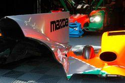 Mazda Motorsports team area