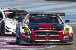 #10 Hofor Racing, Mercedes SLS AMG GT3: Michael Kroll, Roland Eggimann, Kenneth Heyer, Christiaan Fr