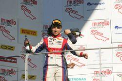 Podium: winner Marcos Siebert, Jenzer Motorsport
