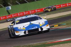 #106 Lamborghini Huracan S.GTCup, Vincenzo Sospiri Racing: Nemoto-Costa