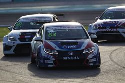 Tin Sritrai, Honda Civic TCR, Team Thailand