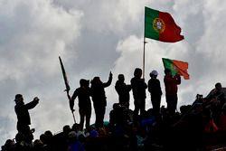Rallye-Fans in Portugal