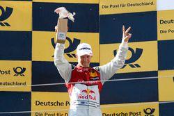 Podium: segundo lugar, Mattias Ekström, Audi Sport Team Abt Sportsline, Audi A5 DTM