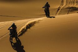 Action in the dunes