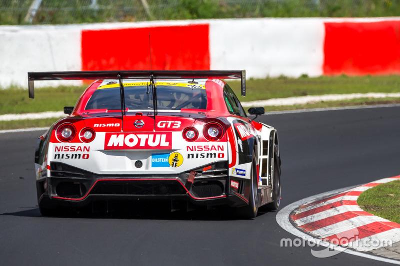 #35 Nissan GT Academy Team RJN, GT-R Nismo GT3: Michael Krumm, Lucas Ordonez, Kazuki Hoshino, Alex B