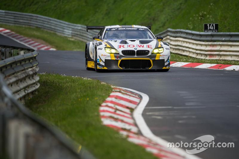 7. #22 ROWE Racing, BMW M6 GT3