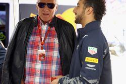 Daniel Ricciardo, Red Bull Racing and Dietrich Mateschitz, Red Bull owner talk