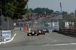 Start, sarı bayrak, kaza, Nick Cassidy Prema Powerteam Dallara F312 – Mercedes-Benz, Sérgio Sette C