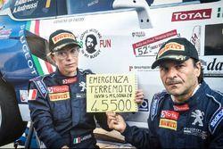Paolo Andreucci e Anna Andreussi uniti per il terremoto