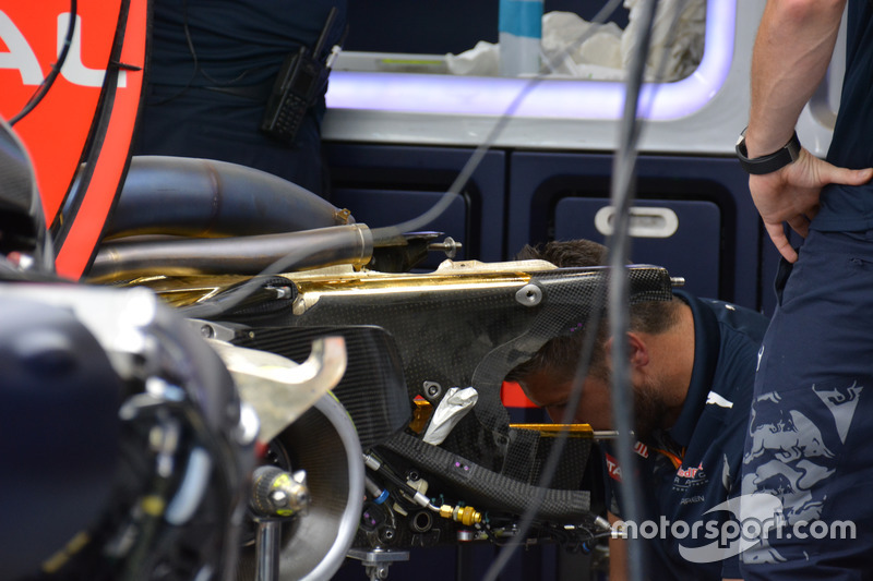 Red Bull Racing RB 12, rear detail