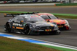 Paul Di Resta, Mercedes-AMG Team HWA, Mercedes-AMG C63 DTM; Augusto Farfus, BMW Team MTEK, BMW M4 DT