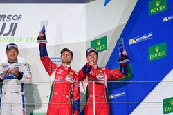 #51 AF Corse Ferrari 488 GTE: Gianmaria Bruni, James Calado Terzo posto GTE PRO