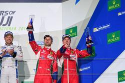 #51 AF Corse Ferrari 488 GTE: Gianmaria Bruni, James Calado THIRD PLACE GTE PRO
