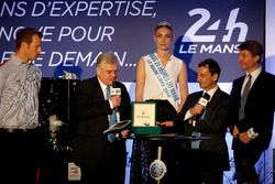 ACO Press Conference: Alex Wurz; Grand Marshal, Jacques Nioclet; Pierre Fillon, ACO President