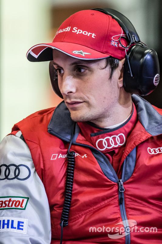 #8 Audi Sport Team Joest Audi R18: Олівер Джарвіс