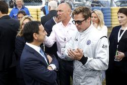 Brad Pitt and Pierre Fillon, ACO President