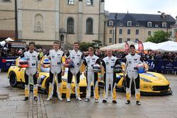 #63 Corvette Racing - GM Chevrolet Corvette C7-R: Jan Magnussen, Antonio Garcia, RickyTaylor, #64 C
