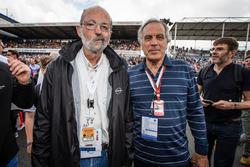 Джорджио Пиола, технический иллюстратор Motorsport.com и Анри Пескароло